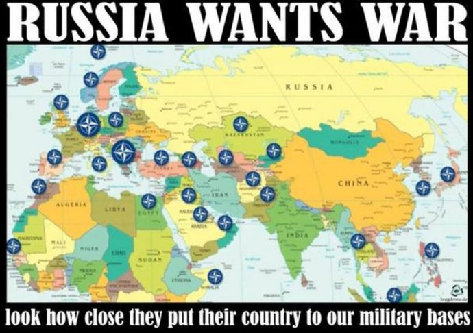 Let S Put The Alleged Russia Hack In A Geopolitical Context Map